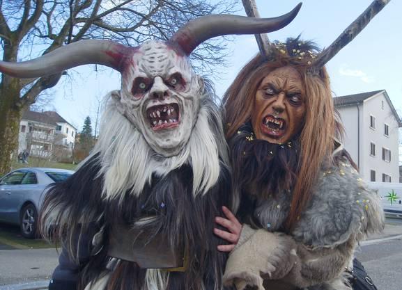 Hohlgass-Pass Holzmaskengruppe aus Sargans