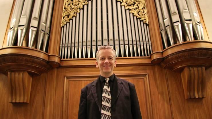 Bernhard Hörler ist seit 40 Jahren Organist in Dietikon, seit 25 Jahren spielt er in der katholischen Stadtkirche St. Agatha.