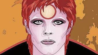 Kunstfigur David Bowie: Michael Allred lässt den 2016 verstorbenen Sänger aufleben.