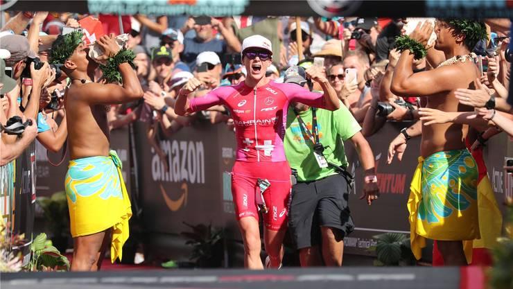 Daniela Ryf ist die international wohl bekannteste Solothurner Sportlerin. Auch 2018 holte sie den Ironman-Sieg.