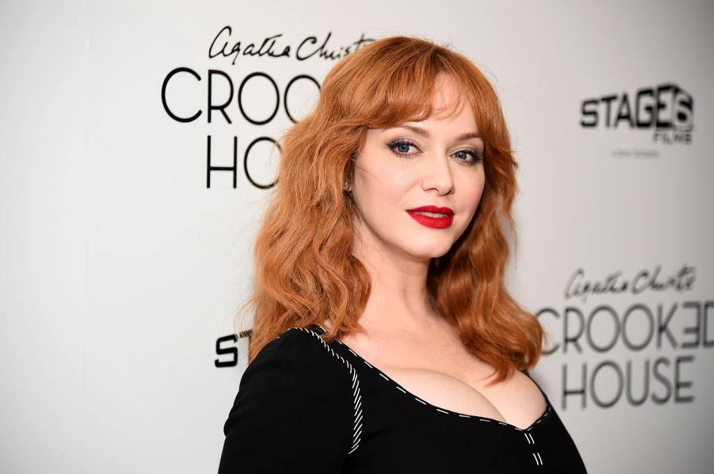 Hendricks bei der Premiere zu «Crooked House» im Dezember 2017. (© Getty Images)