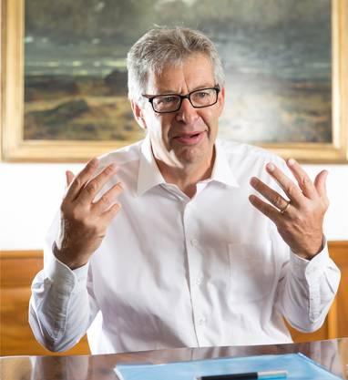 Daniel Mosimann, Präsident LLS/Stadtammann: «Lenzburg hat eine wichtige Brückenfunktion zwischen West- und Ostaargau.»