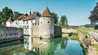 Das Schloss Hallwyl gehört zu den schönsten Schlössern der Schweiz. Auch im Sommer ist das Wasserschloss ein Touristenmagnet.