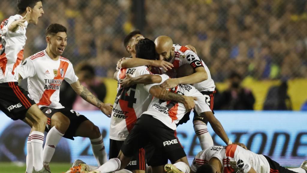 River Plate setzt sich gegen Boca Juniors trotz Niederlage durch