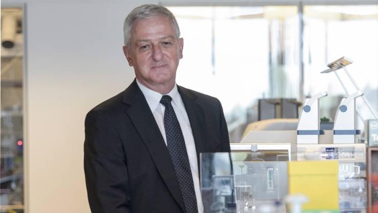 Jörg Reinhardt: «Es gibt einfach nicht genügend Ärzte, Biologen oder Ingenieure in der Schweiz.» Martin Töngi