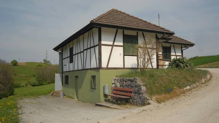 Das Schützenhaus in Ehrendingen: Der Kugelfang der Schiessanlage kann saniert werden.