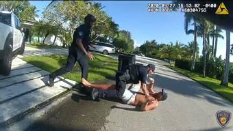 Brad Parscale wurde nach einem Notruf seiner Ehefrau von der Polizei vor seinem Haus in Florida überwältigt und festgenommen.