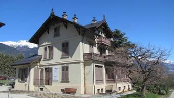 In der Villa Ruffieux dürfen Künstler arbeiten.