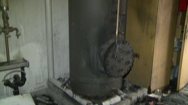 Boiler verursacht Brand in Dättwil