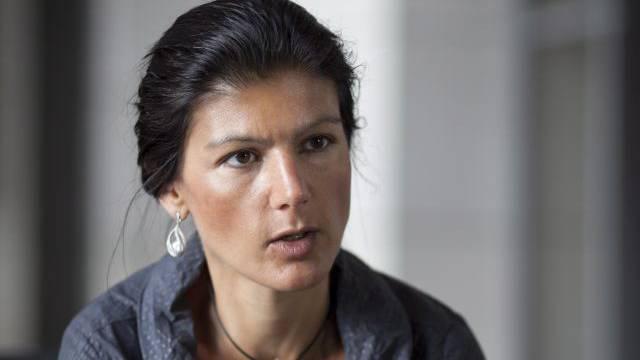 Sahra Wagenknecht: «Eine Privat-Stasi will ich ebenso wenig wie eine staatliche Überwachung». Foto: Thorsten Futh
