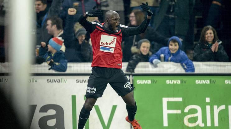 Verlässt Publikumsliebling Igor Nganga den FC Aarau auf die nächste Saison?