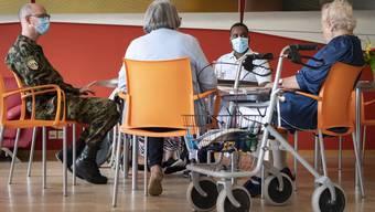 Bei präventiven Tests in Altersheimen soll der Bund die Kosten übernehmen. (Symbolbild)
