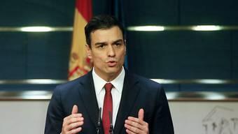 Der sozialistische Parteichef Pedro Sánchez hat sich bereiterklärt, eine Regierung zu bilden.