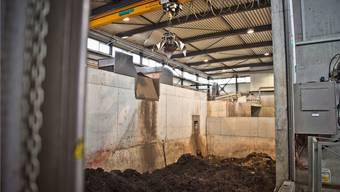 Im Vergärwerk Werdhölzli wird aus Bioabfall Gas. Dieses soll nun auch als erneuerbare Heizenergie anerkannt werden.a. bütschi