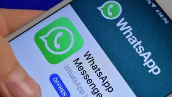 Soziale Medien wie der Instant-Messaging-Dienst Whatsapp gehören zum Alltag der Jugendarbeiter in Kaiseraugst.