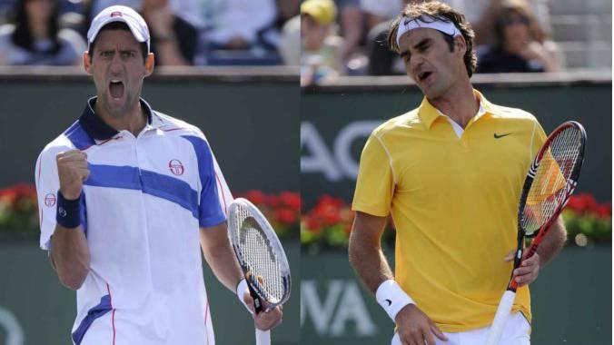 Die Attraktionen am Swiss Indoors: Novak Djokovic und Roger Federer