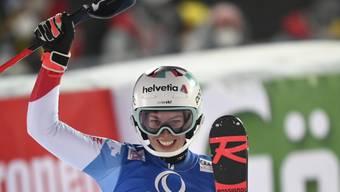 Michelle Gisin gewinnt als erste Schweizerin seit fast 19 Jahren einen Weltcup-Slalom