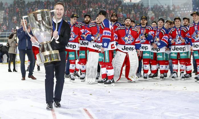 Rapperswil-Jona schlägt im Cupfinal den HC Davos