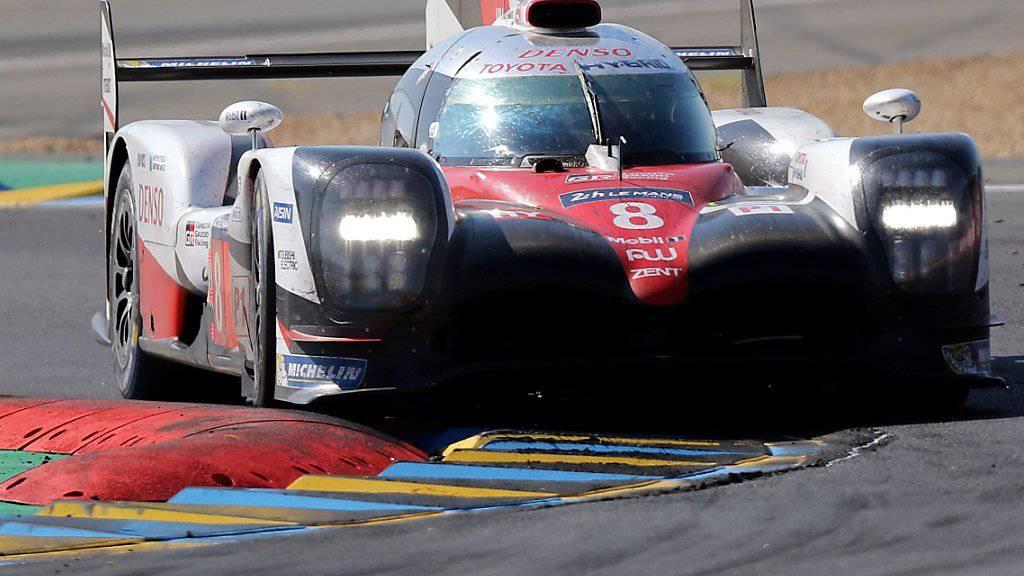 Sébastien Buemi im Training zum 24-Stunden-Rennen in Le Mans