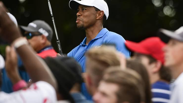 Tiger Woods zieht die Fans wieder in Massen an