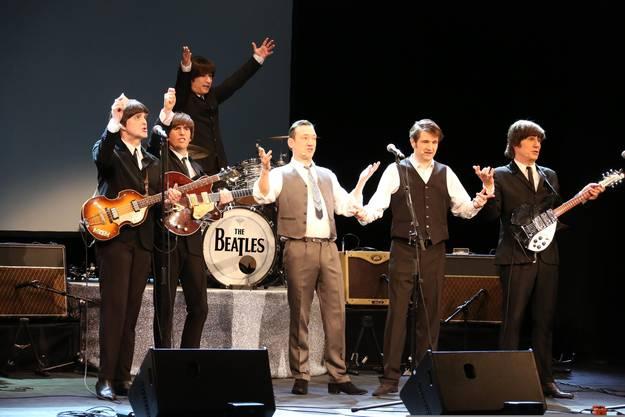 Für die Band gabs die wohl längsten Standing Ovations in der Oltner Theatergeschichte.