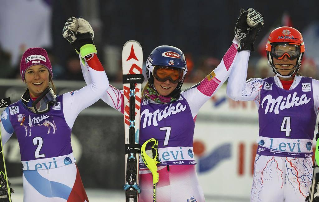 Die Schweizer Skifrauen in Levi (© Keystone)