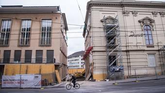 Dank des Stadtcasino-Neubaus entsteht zwischen Barfi und Steinenberg ein kleiner aber feiner Durchgang. Nun ist Ihre Mithilfe gefragt! Nicole Nars-Zimmer