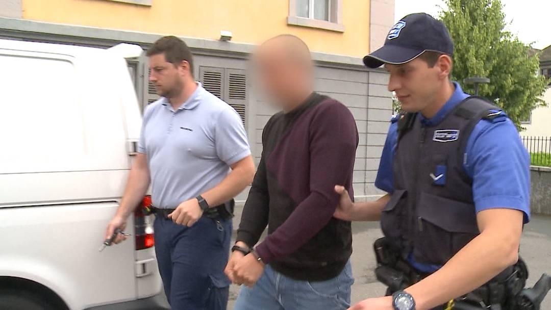 Sackmesser-Räuber von Aarau vor Gericht