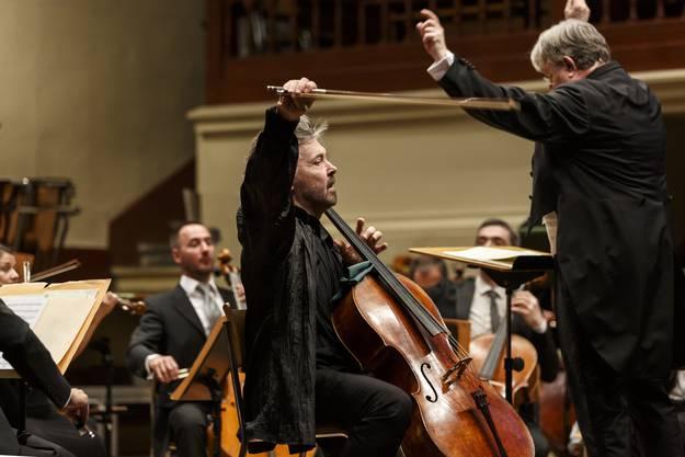 Classionata 2019. Sinfoniekonzert mit den Münchner Symphoniker unter der Leitung von Andreas Spörri. Ivan Monighetti, Violoncello