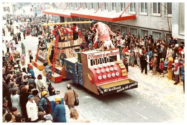 Fasnachtsumzug 1982