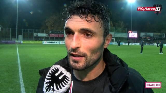«Es tut einfach nur saugut, dass wir mal gewinnen!» Ein erleichterter Luca Radice im Interview nach dem Spiel gegen Le Mont. Und die Analyse von «Assistenztrainer» Sascha Stauch.