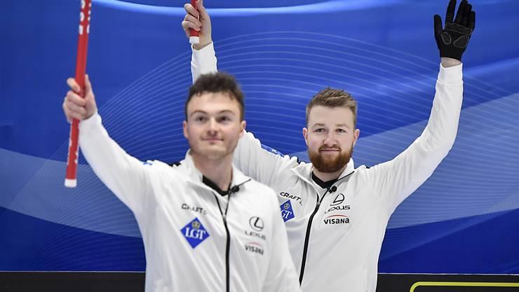 Michael Brunner (links) und Skip Yannick Schwaller