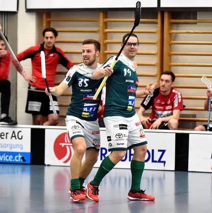 Die Spieler des SV Wiler-Ersigen dürfen sich über den Halbfinal-Einzug freuen.