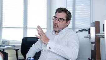 Zuversichtlich: Alexander Bradfisch, CEO der Glutz AG. Hansjörg Sahli