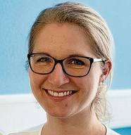 Jeannine Vogt aus Urdorf.