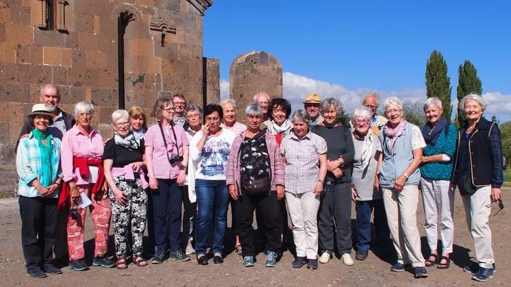 Oltner Reisegruppe in Armenien