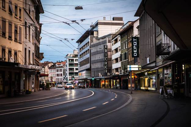 Die Rue de Boujean trennt das Zentrum von der Altstadt