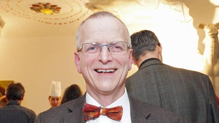 Dietrich Pestalozzi wurde mit der Luther-Rose 2014 ausgezeichnet.