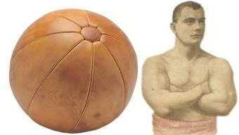 Das einstige Hassobjekt ist wieder in: der Medizinball.