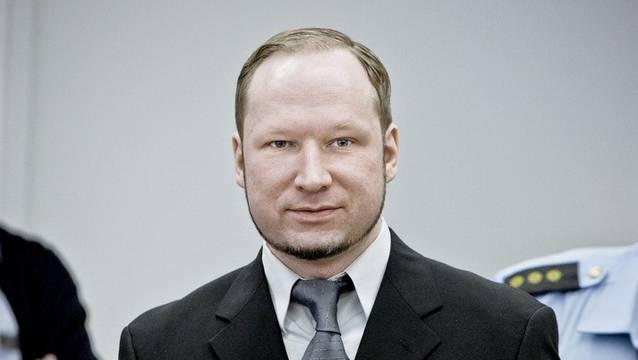 Attentäter Anders Breivik vor Gericht