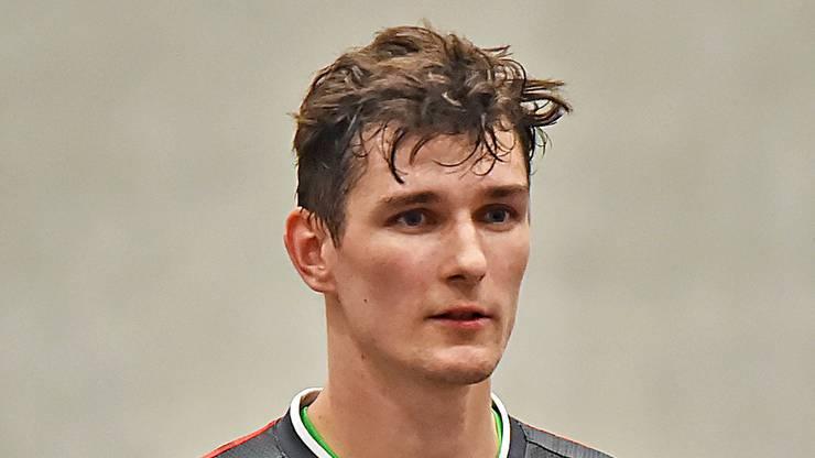 Spieler des Volley Schönenwerd: Yves Roth.