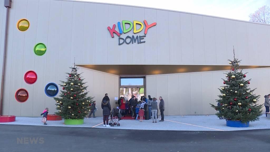 Kiddy Dome: Feierliche Eröffnung eines Kinderparadieses