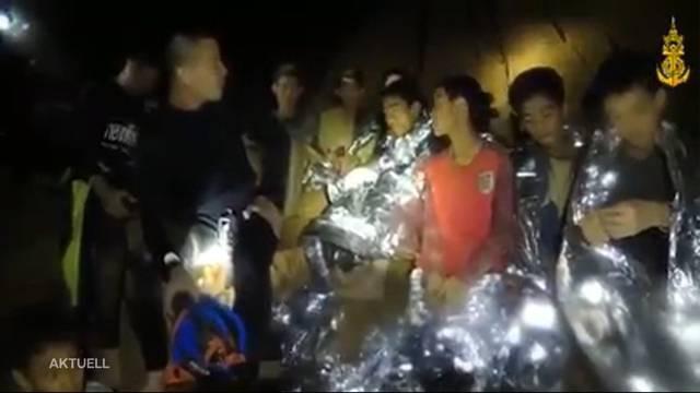 Höhlen-Drama Thailand: Vier der eingesperrten Jungs sind gerettet