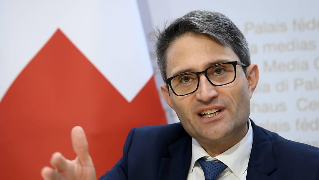 Der oberste Schweizer Gesundheitsdirektor Lukas Engelberger setzt sich für eine Erhöhung der Impfquote ein. (Archivbild)