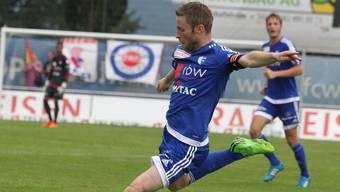 Alain Schultz bereitete gegen Chiasso den ersten Treffer des FC Wohlen vor