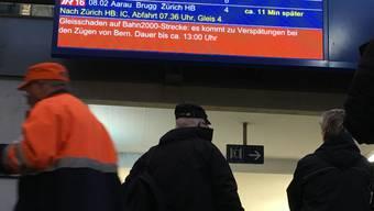 Zugausfälle in Olten