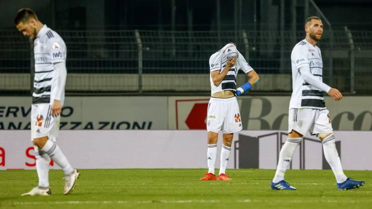 Der FCB verliert in Lugano mit 1:2.