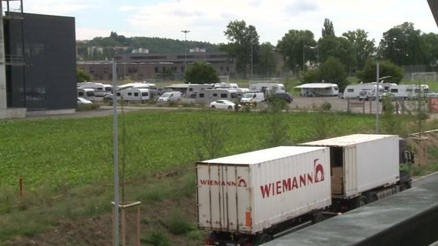 Ärger mit Fahrenden bei der Tissot-Arena