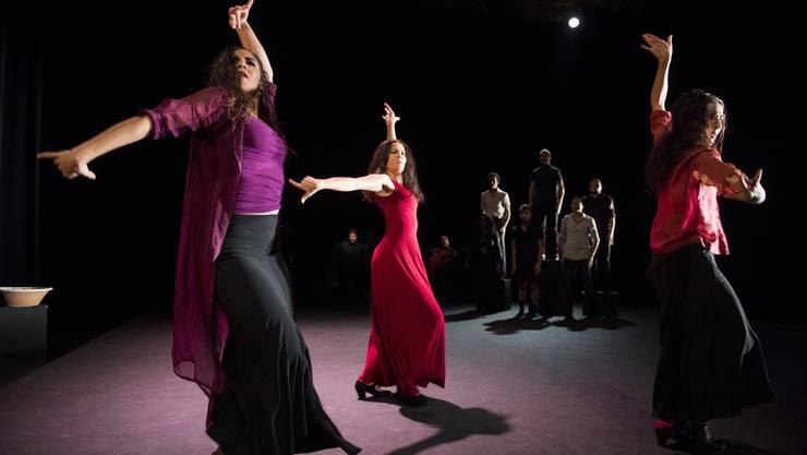 Die Badener Tanzcompagnie Flamencos en route bildet mit ihrer neuen Produktion den Abschluss der Sommersaison.