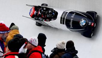 Den angestrebten Top-Ten-Platz erreicht: Michael Vogt und sein Team fuhren in Altenberg in den 9. Rang
